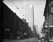 The Old Toronto Star Building, 80 King West in the 1930s