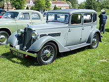 1936 Rover 10 Six-light Saloon (5747552940).jpg