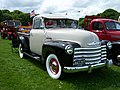 1951 Chevrolet 3100 (HAS 207) pick-up truck, 2012 HCVS Tyne-Tees Run.jpg