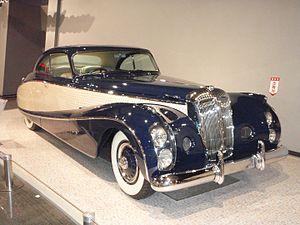 Bernard Docker - Blue Clover, the 1952 show car