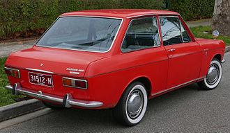 Nissan Sunny - Datsun 1000 DeLuxe two-door sedan (Australia)
