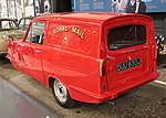 1970 Reliant Regal Supervan 3 700cc Royal Mail Livery Rear.jpg