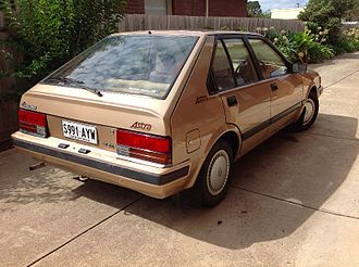 Holden Astra - 1986 Holden Astra SLX (LC)
