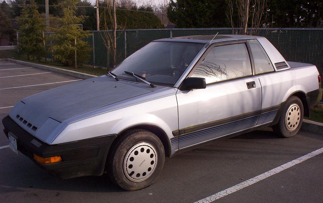 1986 nissan pulsar nx