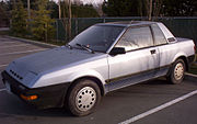 1986 Nissan Pulsar NX (North American Model)