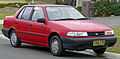 1991-1994 Hyundai Excel (X2) LS sedan 02.jpg