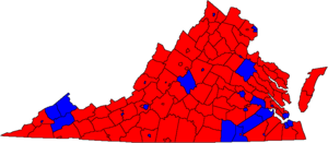 1997 Virginia guberniestra elektomap.png