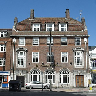 Pantile - 20–22 Marlborough Place, Brighton is roofed with pantiles.