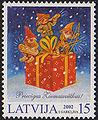 20021123 15sant Latvia Postage Stamp B.jpg