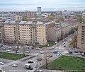 2003年 Космонавтов ул.宇航员大街和Ярославкая ул. 雅罗斯拉夫尔大街 路口 - panoramio.jpg