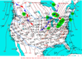 2003-01-18 Surface Weather Map NOAA.png