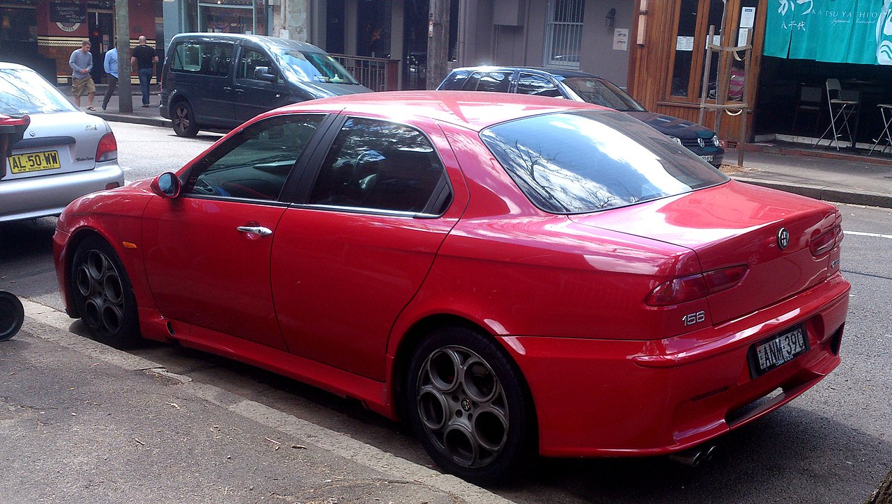 file 2003 alfa romeo 156 gta sedan 2012 09 19 wikimedia commons. Black Bedroom Furniture Sets. Home Design Ideas