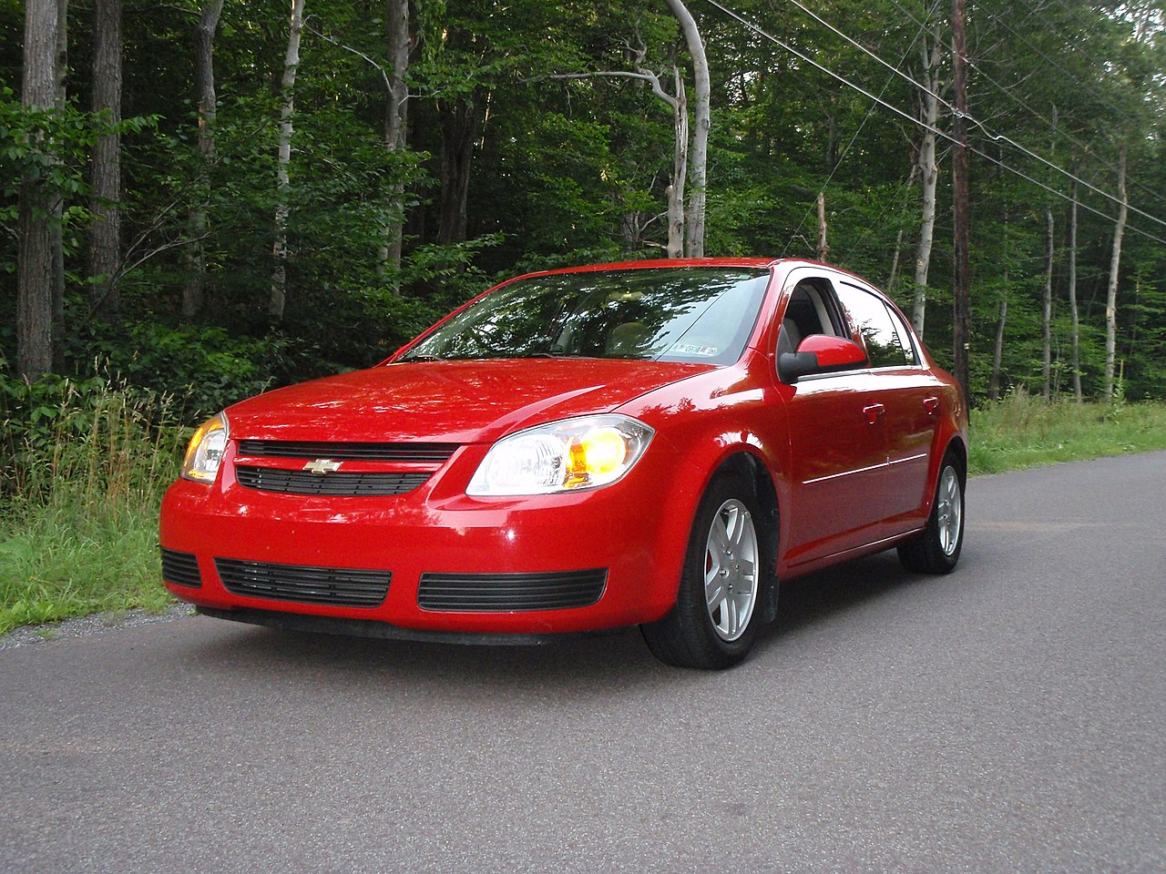 All Chevy 2005 chevy colbalt : File:2005 Chevy Cobalt LS.JPG - Wikimedia Commons