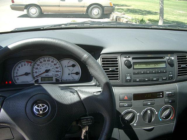 File2005 Toyota Corolla S Dashboardg Wikimedia Commons