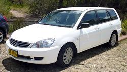 2006-2008 Mitsubishi Lancer (CH MY07) ES station wagon (Australia)