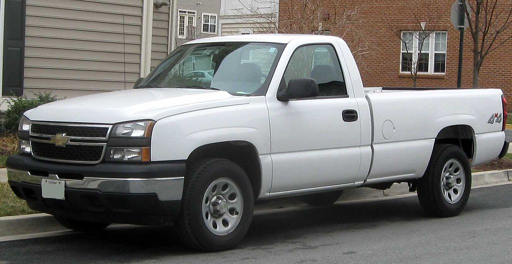 File:2006 Chevrolet Silverado 1500.jpg - Wikimedia Commons