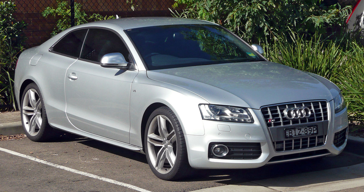 Mercedes Benz Coupe >> Audi S5 — Вікіпедія