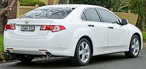 Honda Accord (Japan and Europe eighth generation) - Image: 2008 2011 Honda Accord Euro sedan (2011 06 15) 02