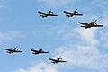 2011 Legends Balbo - 4 Mustangs, Skyraider & Hawk75 (7457090984).jpg