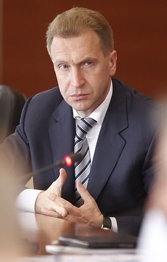 First Deputy Prime Minister of Russia - Image: 2012 07 02 Игорь Шувалов