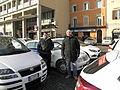 2012 Bologna taxi drivers strike, Piazza VIII Agosto (2) (Bologna).JPG