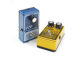 DOD Electronics - Photograph of the new 2013 DOD Pedals