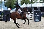 2013 Longines Global Champions - Lausanne - 14-09-2013 - Fiona Meier et Pleiade Heutiere 1.jpg