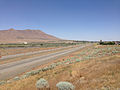 2014-06-12 13 04 21 View east along Interstate 80 from the Exit 176 overpass in Winnemucca, Nevada.JPG