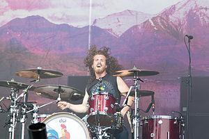 Black Stone Cherry - John Fred Young at Nova Rock Festival 2014