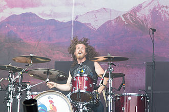 Black Stone Cherry - John Fred Young at Nova Rock Festival 2014