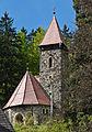 2014 Międzygórze, kościół Krzyża Świętego 03.JPG