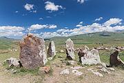 2014 Prowincja Sjunik, Zorac Karer, Prehistoryczny kompleks megalityczny (028).jpg