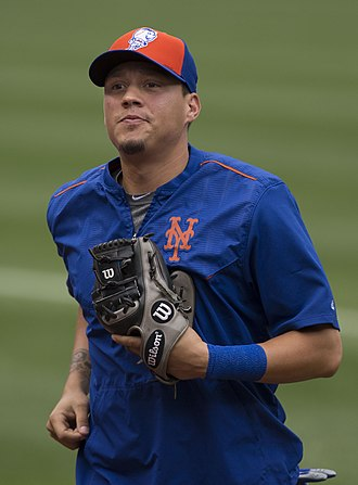 Wilmer Flores - Flores with the New York Mets in 2015