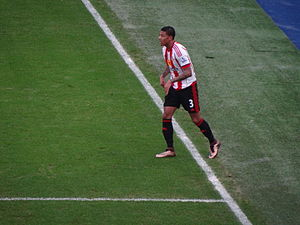Patrick van Aanholt - Van Aanholt playing for Sunderland in 2015