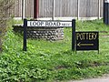 2017-04-26 Street name sign, Loop road, Trimingham.JPG