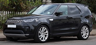 Automobile drag coefficient - 2017 Land Rover Discovery with front air curtains