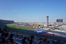 Interior view of Texas Motor Speedway