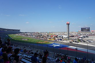 Texas Motor Speedway - Interior view of Texas Motor Speedway