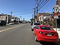 2018-07-19 10 03 41 View south along New Jersey State Route 17 (Ridge Road) at Bergen County Route 28 (Kingsland Avenue) in Lyndhurst Township, Bergen County, New Jersey.jpg