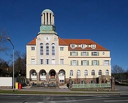 20180202105DR Freital Döhlen Rathaus Döhlen