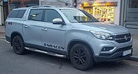 2018 Ssangyong Musso Saracen Automatic 2.2 Front.jpg