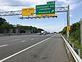 2019-05-29 11 08 30 View south along Interstate 95 and west along the inner loop of the Capital Beltway (Interstate 495) at Exit 174 (Eisenhower Avenue Connector, Alexandria) in Rose Hill, Fairfax County, Virginia.jpg