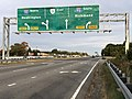 2019-10-19 17 27 05 View east along Virginia State Route 3 (Plank Road) at the exit for Interstate 95 SOUTH (Richmond) in Fredericksburg, Virginia.jpg