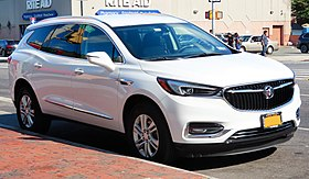 2018 Buick Enclave: Redesign, Styling, New Engines, Price >> Buick Enclave Wikipedia