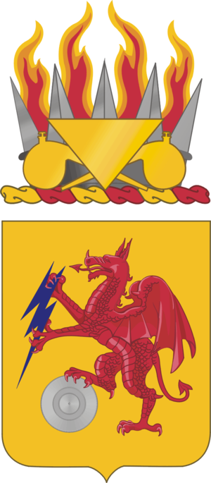 2nd Chemical Battalion (United States) - Coat of arms