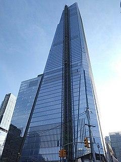 30 Hudson Yards Skyscraper in New York City