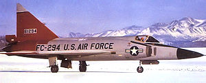 31st Tactical Reconnaissance Training Squadron - 31st Fighter Interceptor Squadron F-102A Delta Dagger 56-1294 at Elmendorf AFB, Alaska