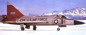 31st Tactical Reconnaissance Training Squadron - 31st Fighter Interceptor Squadron F-102A Delta Dagger 56-1294 at Elmendorf AFB, Alaska