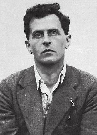 Ludwig Wittgenstein - Portrait of Wittgenstein on being awarded a scholarship from Trinity College, Cambridge, 1929