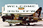 355th Tactical Fighter Wing A-7D Corsir II 71-0355 Welcome.jpg